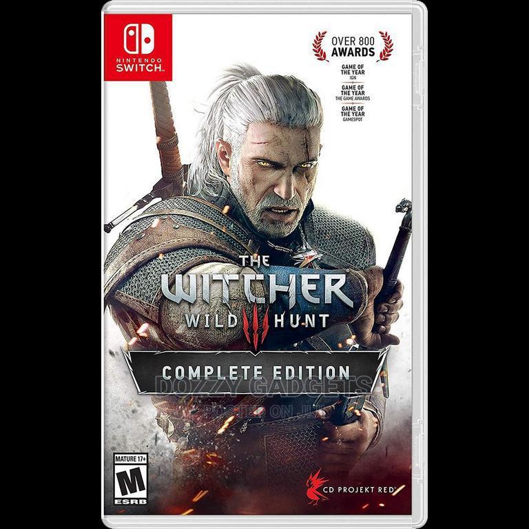 Nintendo Switch Witcher 3