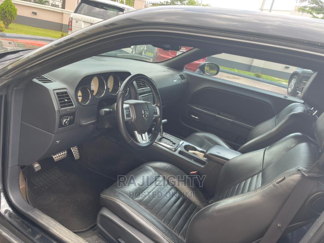 Dodge Challenger 2013 SXT PLUS Black   Cars for sale in Ikeja, Lagos State, Nigeria