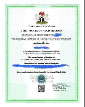 Business Name Registration in Port Harcourt   Legal Services for sale in Rivers State, Obio-Akpor