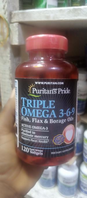Puritan's Pride Tripple Omega 369   Vitamins & Supplements for sale in Lagos State, Ikeja