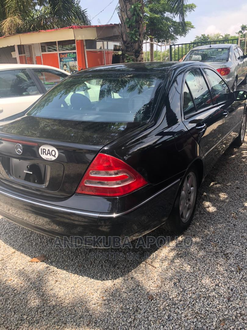 Mercedes-Benz C240 2003 Black | Cars for sale in Mbora, Abuja (FCT) State, Nigeria