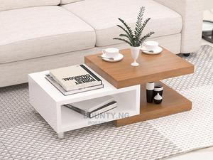 Center Table With Storage Shelf   Furniture for sale in Lagos State, Amuwo-Odofin