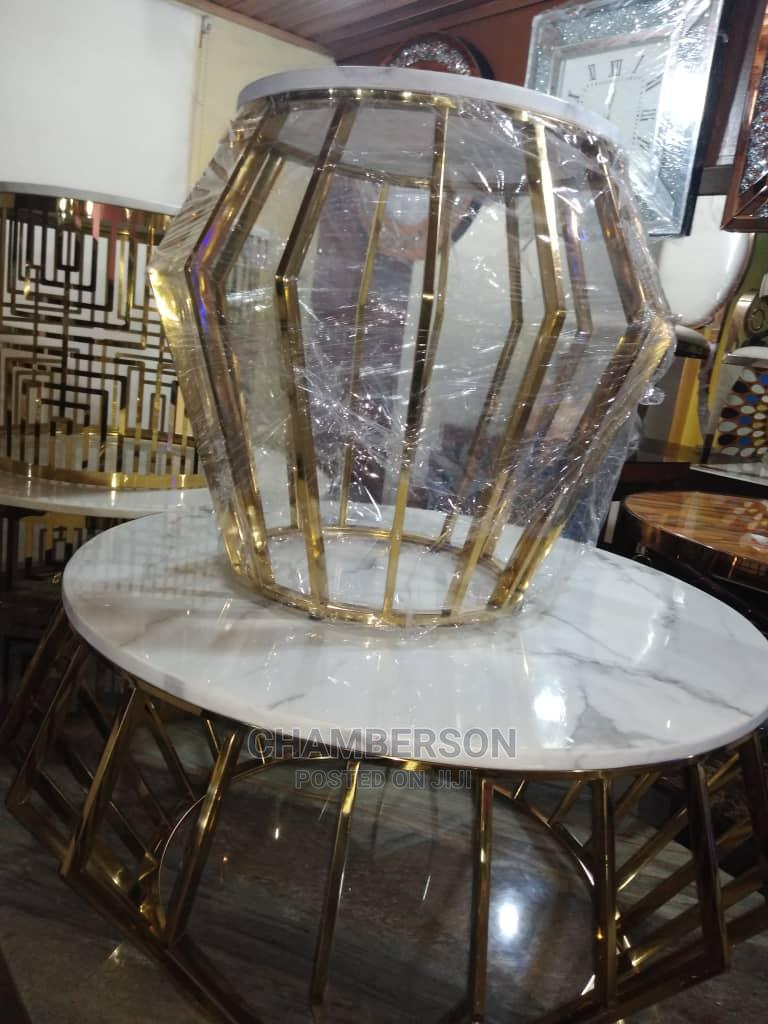 Archive: Beautiful Center Table With Side Stools