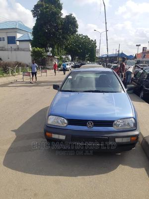 Volkswagen Golf 1999 2.0 Blue   Cars for sale in Lagos State, Surulere