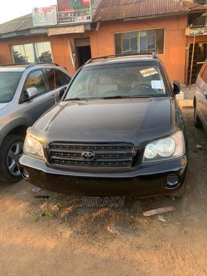 Toyota Highlander 2003 Black   Cars for sale in Lagos State, Ikorodu