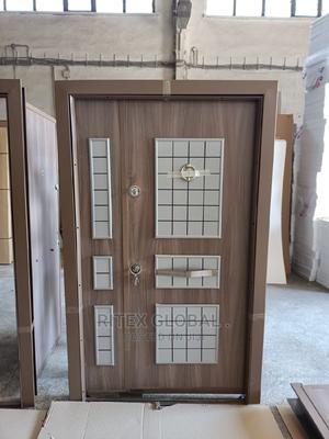 Turkey Security Standard Double Opening Door   Doors for sale in Lagos State, Orile
