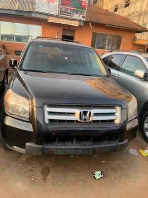 Honda Pilot 2006 EX 4x4 (3.5L 6cyl 5A) Black | Cars for sale in Lagos State, Ikorodu