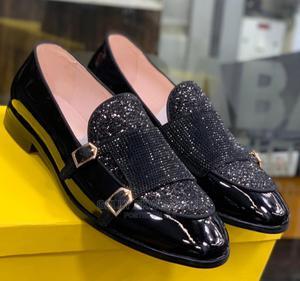 Black Fendi Designer Men's Loafers   Shoes for sale in Lagos State, Apapa