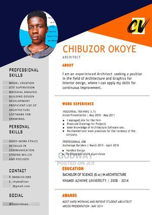 Graphics Designer | Computing & IT CVs for sale in Abuja (FCT) State, Jabi