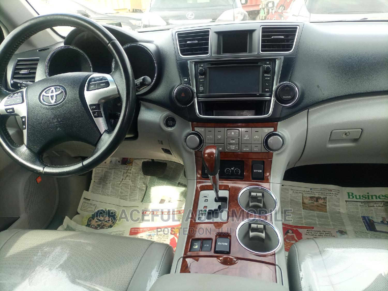Toyota Highlander 2012 Limited Silver | Cars for sale in Apapa, Lagos State, Nigeria