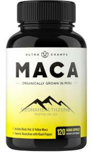 Nutra Champs Organic Maca Root Powder Capsules   Vitamins & Supplements for sale in Lagos State, Maryland