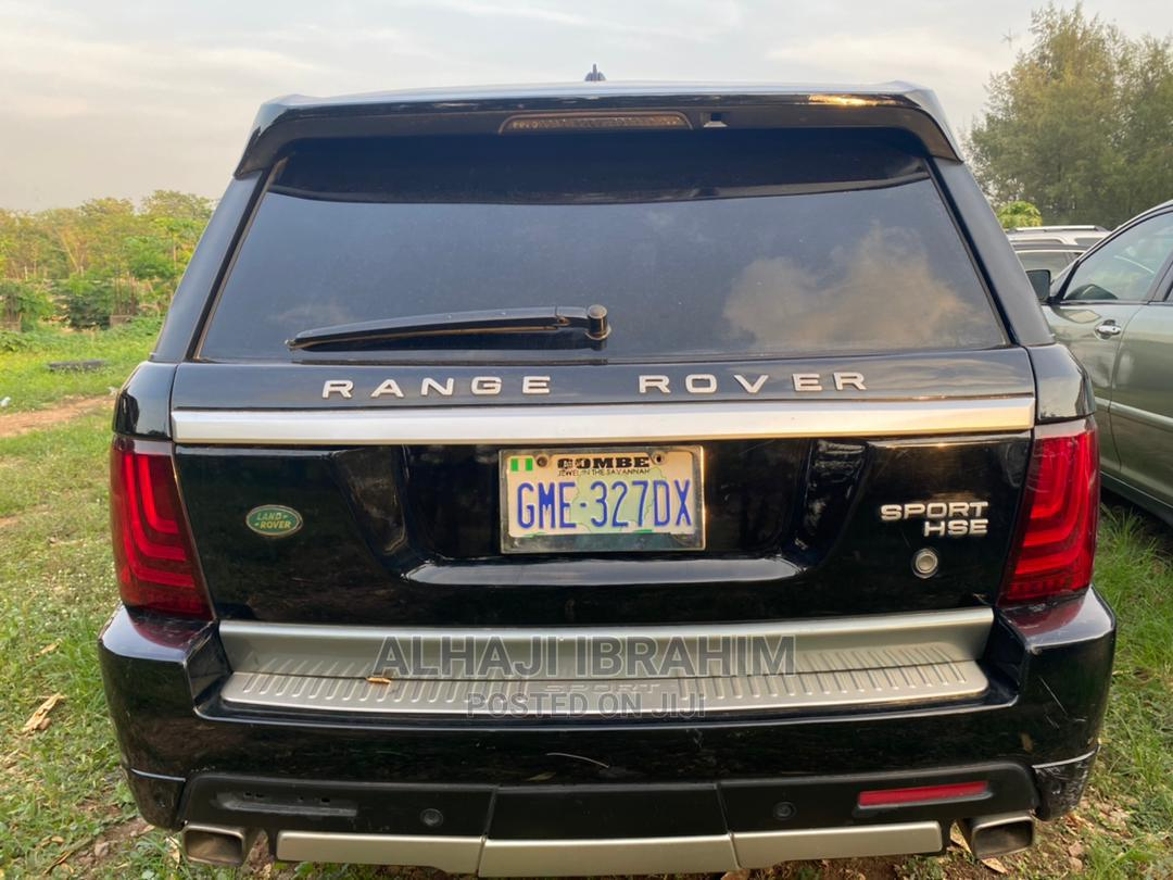 Land Rover Range Rover Sport 2008 4.2 V8 SC Black | Cars for sale in Central Business District, Abuja (FCT) State, Nigeria