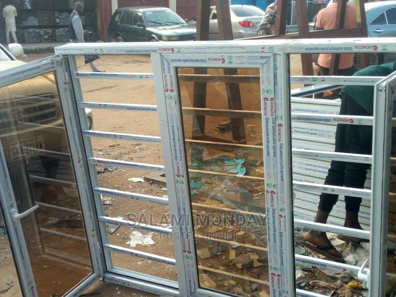 Archive: Aluminum Casement Window With Burglary