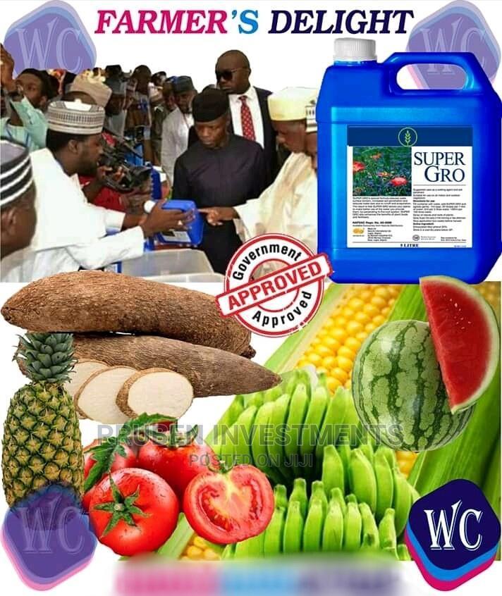Archive: Super Gro Organic Fertilizer