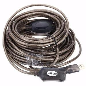 USB 2.0 Extension Cable-20m   Accessories & Supplies for Electronics for sale in Lagos State, Ikeja