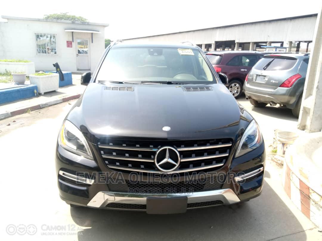 Mercedes-Benz M Class 2014 Black