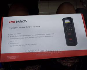 Hik Vision Fingerprint Access Control Terminal | Security & Surveillance for sale in Lagos State, Ojo