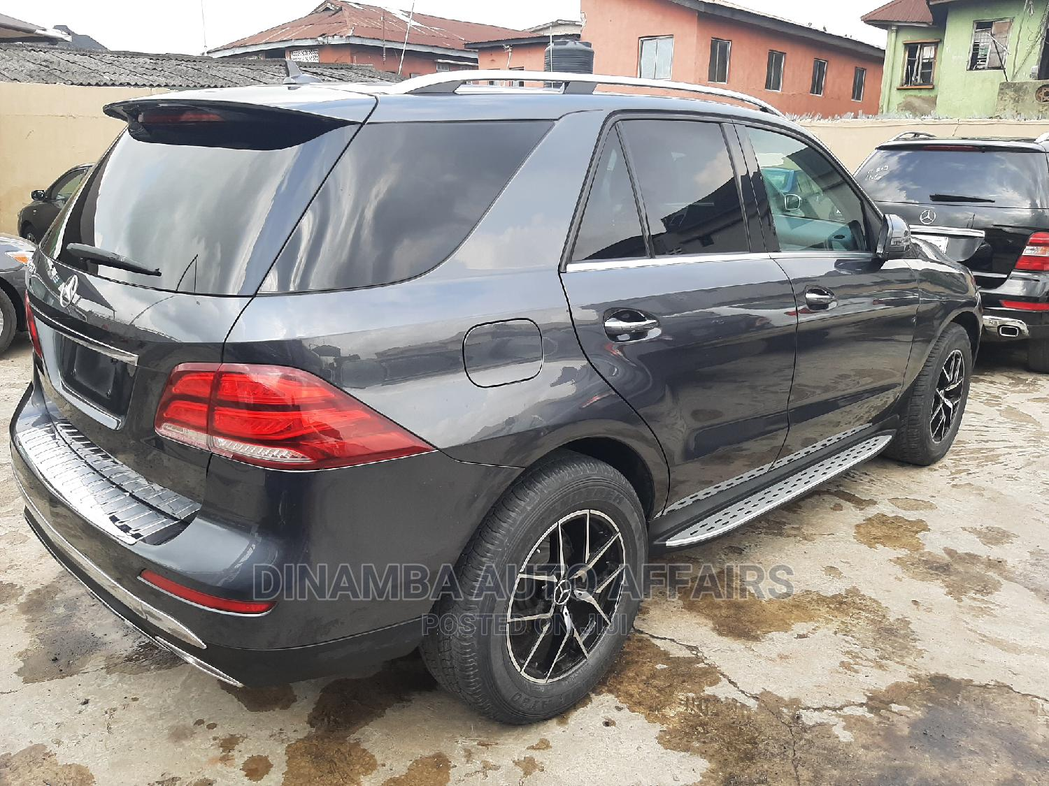 Mercedes-Benz GLE-Class 2016 Gray   Cars for sale in Surulere, Lagos State, Nigeria