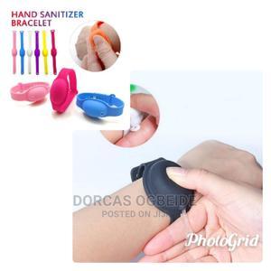 Hand Sanitizer Dispenser Bracelet | Skin Care for sale in Lagos State, Lagos Island (Eko)