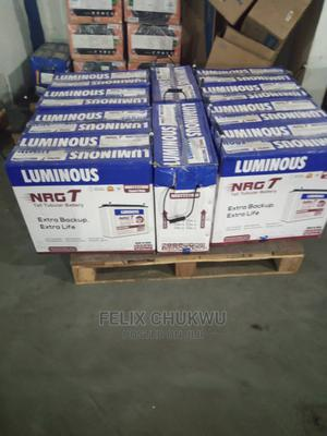 Luminous 220ah/12v Tubular Battery Port Harcourt | Electrical Equipment for sale in Rivers State, Port-Harcourt