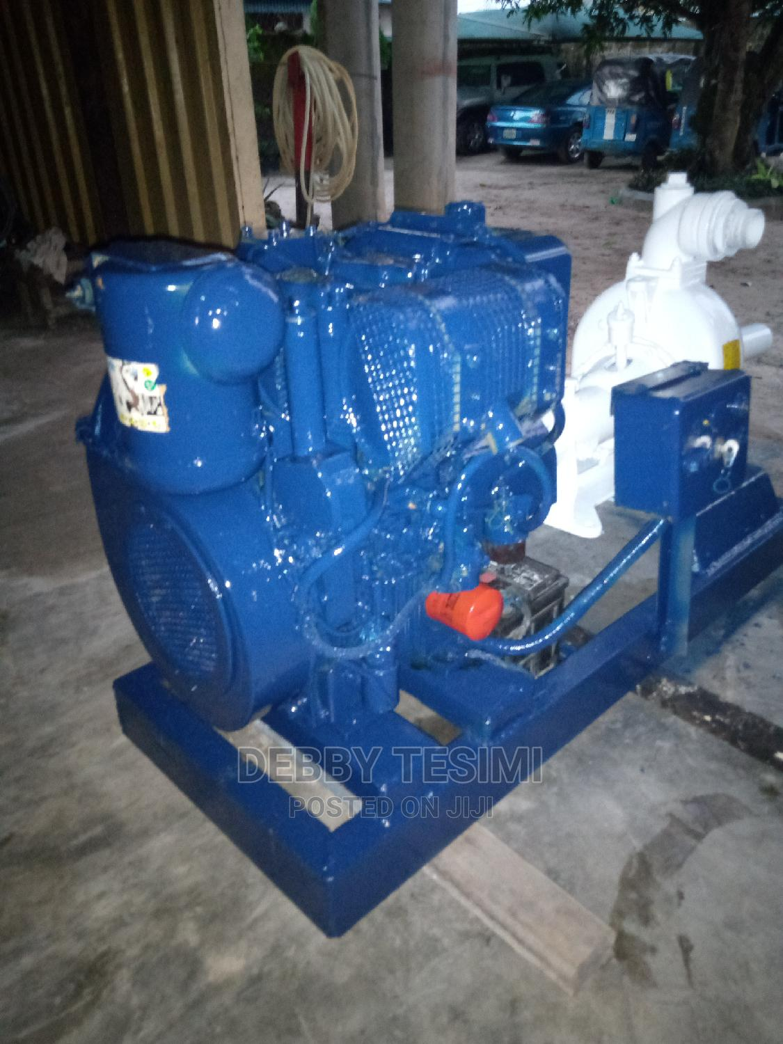 Pumping Machine for Drilling or Any Other Functions