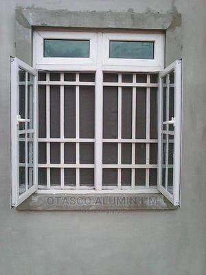 Aluminum Casement Window With Protector | Windows for sale in Edo State, Benin City