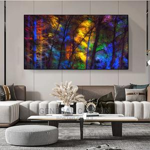 Colorful Forest Canvas Poster Art Prints | Arts & Crafts for sale in Lagos State, Victoria Island