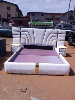 Upholstery Royal King Size Bedframe | Furniture for sale in Lagos State, Lekki