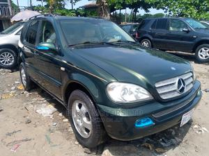 Mercedes-Benz M Class 2003 ML 320 Green   Cars for sale in Lagos State, Apapa
