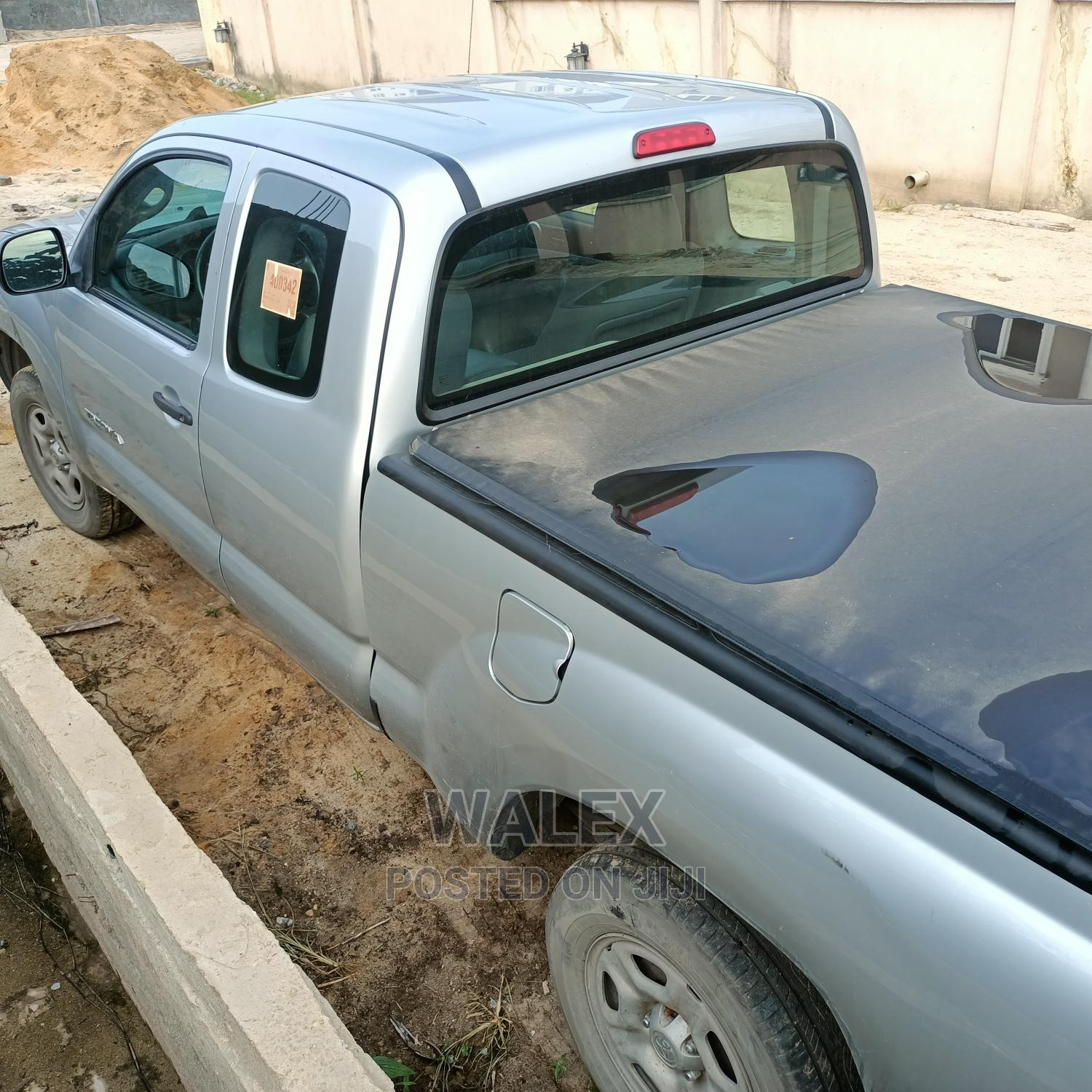 Toyota Tacoma 2008 Access Cab Silver | Cars for sale in Ajah, Lagos State, Nigeria
