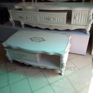 Imported Royal Design Tv Stand With Center Table | Furniture for sale in Lagos State, Ojo