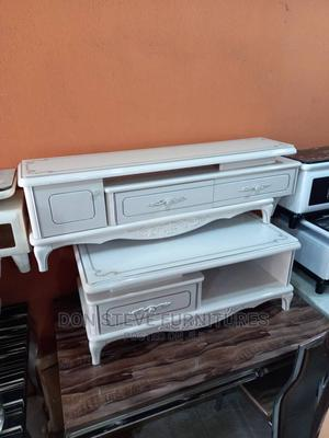 Imported Model Design Tv Stand With Center Table | Furniture for sale in Lagos State, Ojo