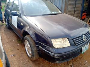 Volkswagen Bora 1999 1.8 Blue   Cars for sale in Lagos State, Abule Egba
