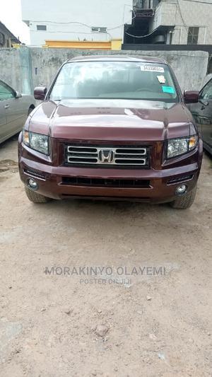 Honda Ridgeline 2008 RTL Red | Cars for sale in Lagos State, Ikeja