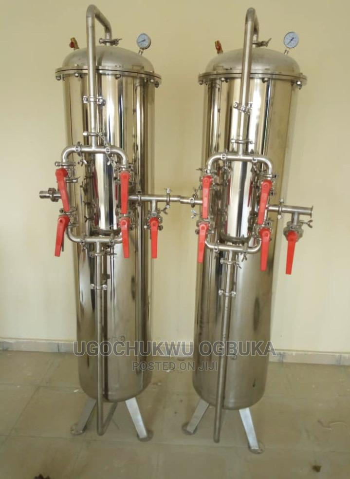Stainless Hard Water Treatment Water Purification Media Tank   Manufacturing Equipment for sale in Amuwo-Odofin, Lagos State, Nigeria