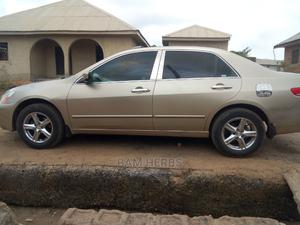 Honda Accord 2005 2.0 Comfort Automatic Gold | Cars for sale in Osun State, Ede