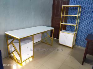Office Table and Shelf   Furniture for sale in Lagos State, Ikeja