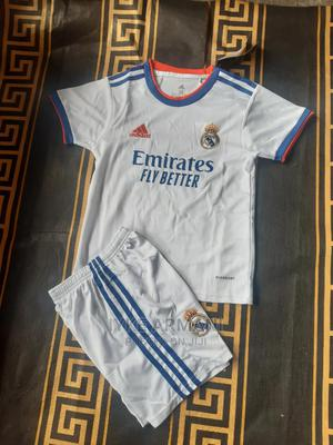 Real Madrid Children's Jersey 2021/2022 | Clothing for sale in Lagos State, Lagos Island (Eko)