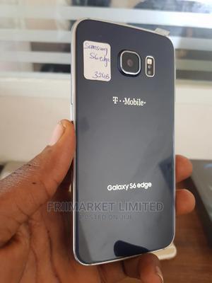 Samsung Galaxy S6 edge 32 GB Black   Mobile Phones for sale in Edo State, Ekpoma