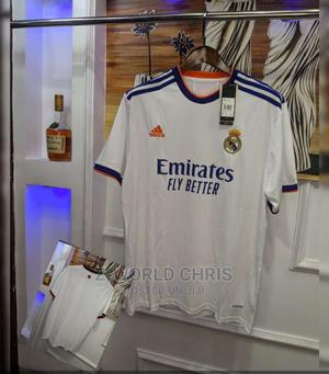 Real Madrid Officially 21/22 Home Jersey | Clothing for sale in Lagos State, Surulere