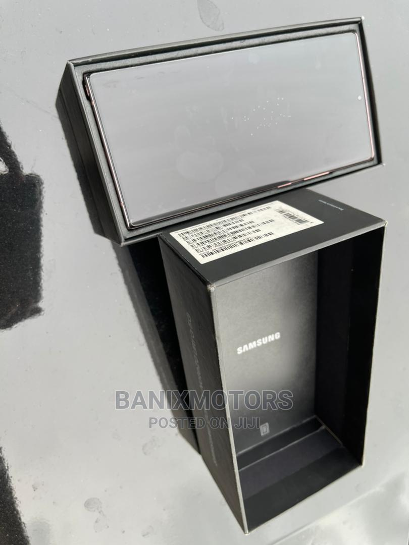 Samsung Galaxy Note 20 Ultra 5G 128GB Black   Mobile Phones for sale in Ikeja, Lagos State, Nigeria