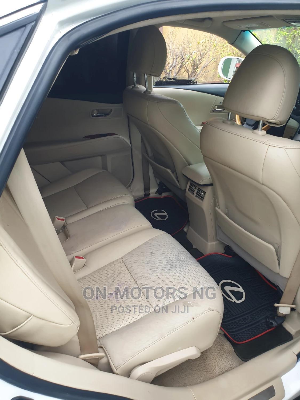 Archive: Lexus RX 2011 350 White