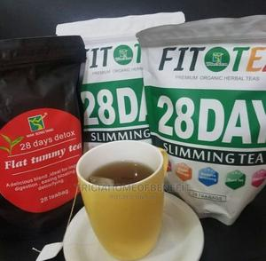 28days Fit Tea 28days Flat Tummy Detox Tea Combo | Vitamins & Supplements for sale in Lagos State, Isolo