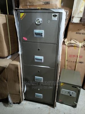 Solid Metal 4 Drawers Fireproof Safe   Safetywear & Equipment for sale in Lagos State, Ogba