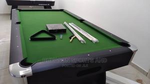 8ft Snooker With Green Felt and Accessories   Sports Equipment for sale in Lagos State, Ojota