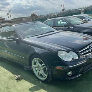 Mercedes-Benz CLK 2008 550 Coupe Blue | Cars for sale in Lagos State, Ifako-Ijaiye