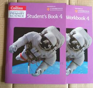 Collins International Primary Science Book 4 And Workbook 4   Books & Games for sale in Lagos State, Yaba