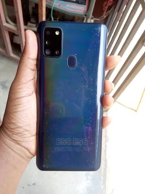 Samsung Galaxy A21s 64 GB Blue   Mobile Phones for sale in Lagos State, Ikorodu