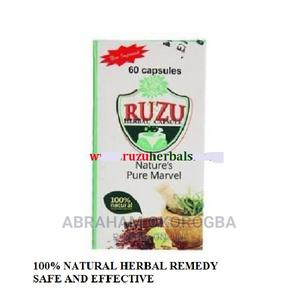 Ruzu Herbal Capsule | Vitamins & Supplements for sale in Rivers State, Port-Harcourt