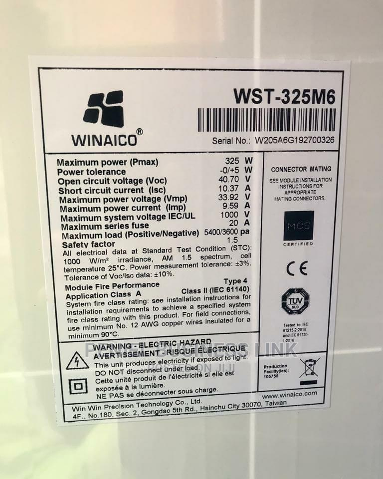 Winaico 325watts Solar Panel   Solar Energy for sale in Ojo, Lagos State, Nigeria